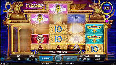 Machine à sous Netent Pyramid : Quest for Immortality