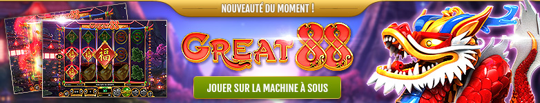 Machine à sous Great 88 de Betsoft Gaming