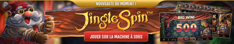Nouveau jeu de casino Noël : Jingle Spin