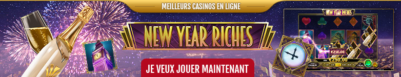 Machine à sous vidéo New Year Riches