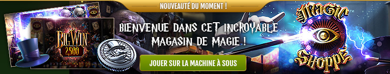 Machine à sous 5 rouleaux 3D sans téléchargement The Magic Shoppe