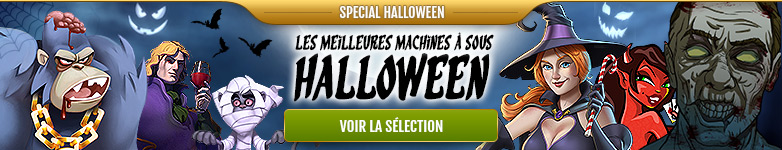 Machine à sous Halloween !